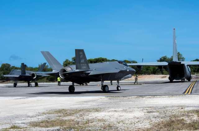 F-35等待加油中。图源:美军网站