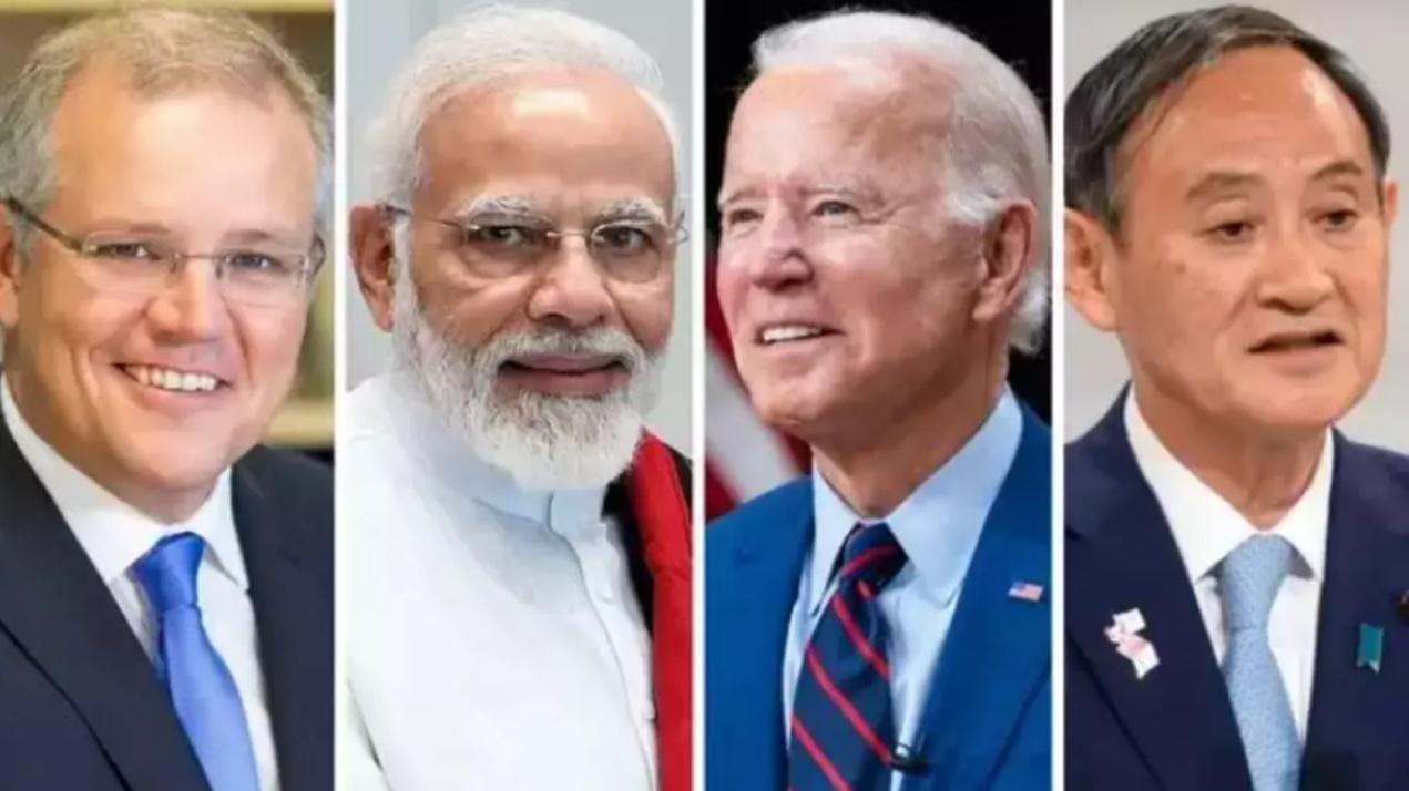 印美日四国领导人资料图