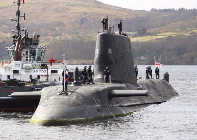 英国第4艘机敏级攻击核潜艇服役,从开工建造到服役耗时超12年