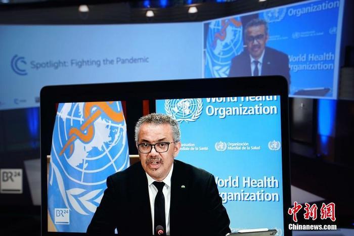 外媒:欧盟近20国支持谭德塞连任世卫组织总干事