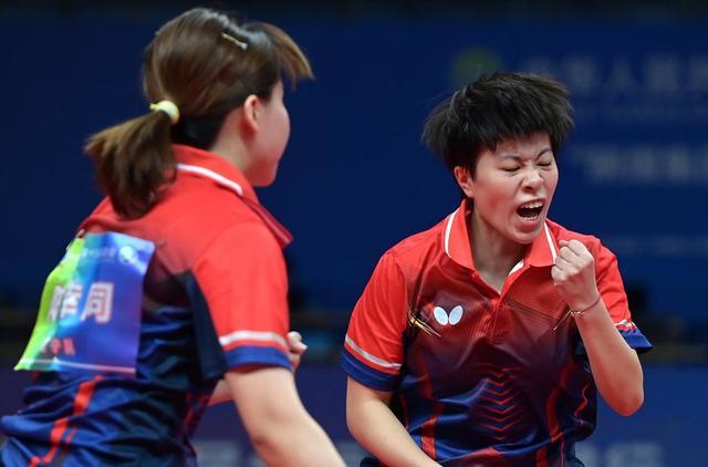 全运会-乒乓球女子双打半决赛:王艺迪/陈幸同晋级决赛