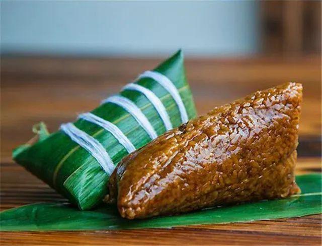鲜香软糯的船头粽