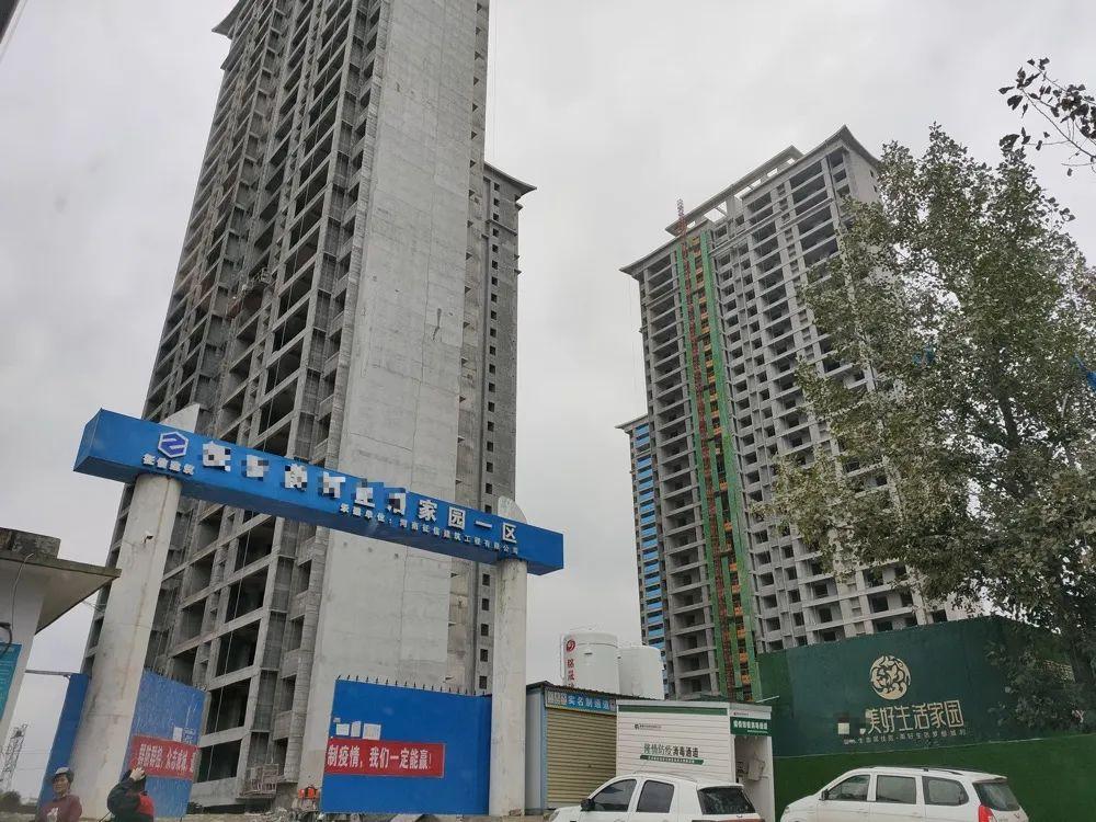 焦作市一在建项目 每经记者 王佳飞 摄