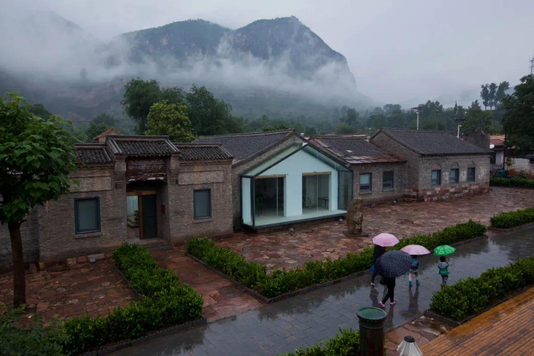 山西与河北交界的太行山区,绿色植被得以恢复