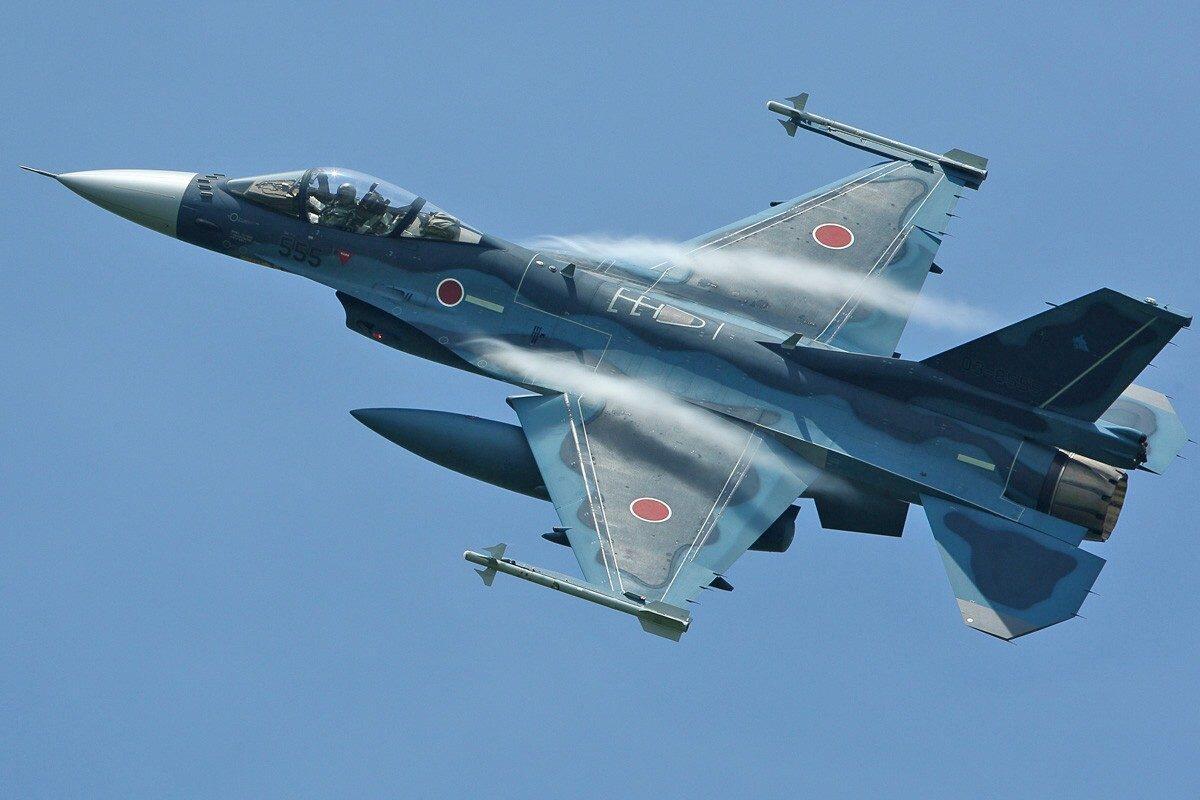 日本航空自卫队装备的F-2战斗机