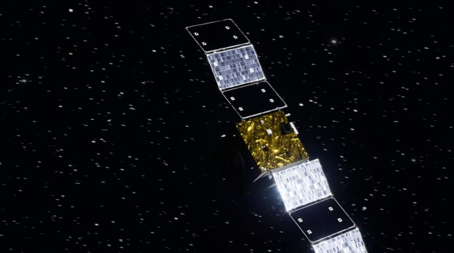 太阳探测科学技术试验卫星模拟高清图
