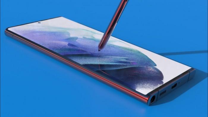设计师分享三星Galaxy S22 Note Ultra智能机概念渲染