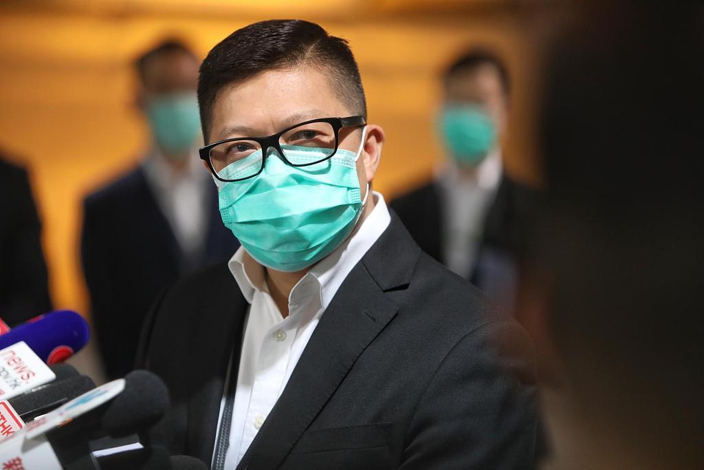 外籍情报人员就职黎智英报馆 邓炳强建议立法设间谍罪