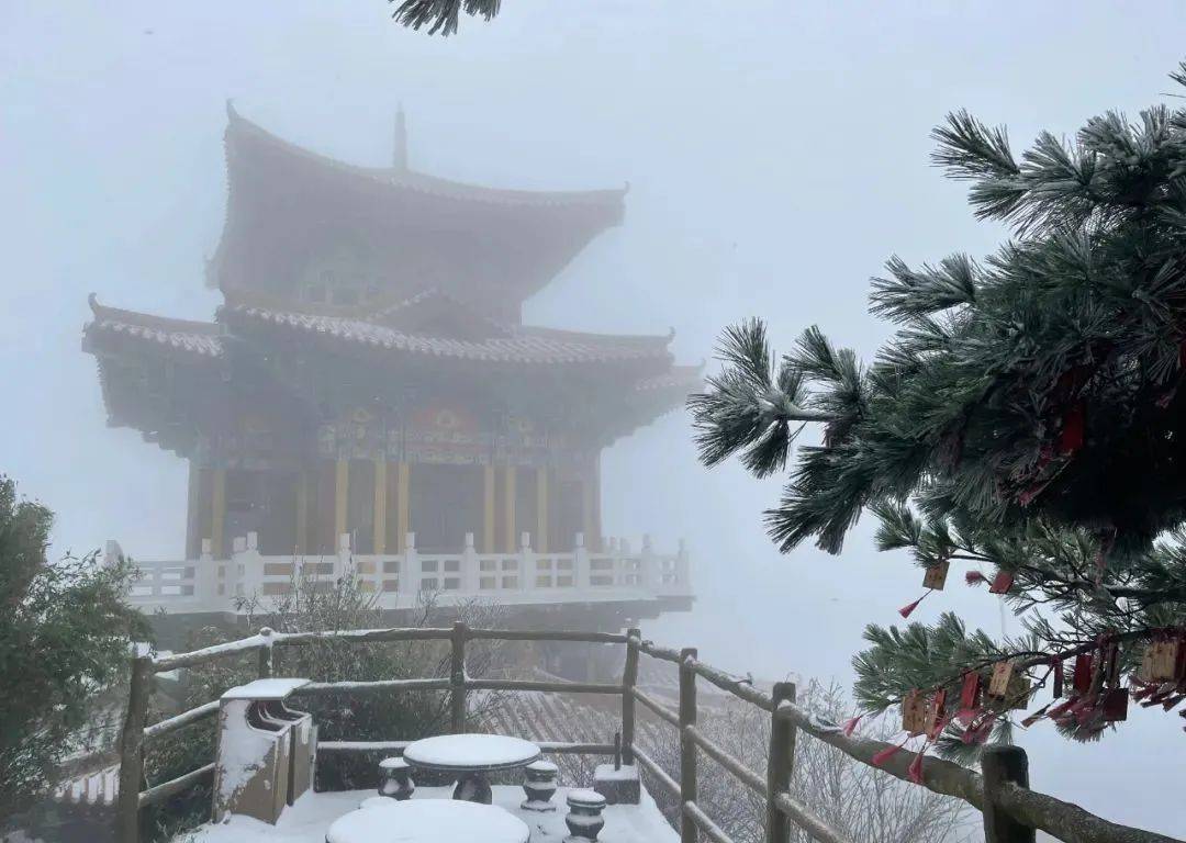 冷҈冷҈冷҈!这里下雪了
