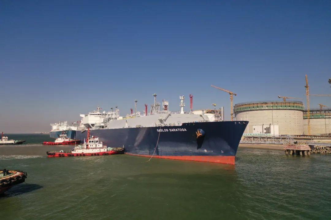 汇鹏能源LNG抵达国家管网天津LNG接收站