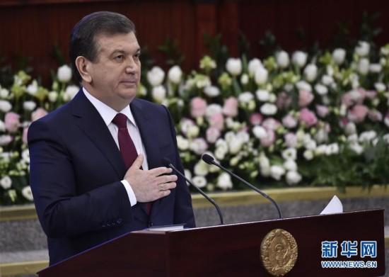 乌兹别克斯坦总统米尔济约耶夫赢得连任