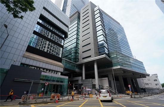 图为湾仔香港警察总部(大公网)