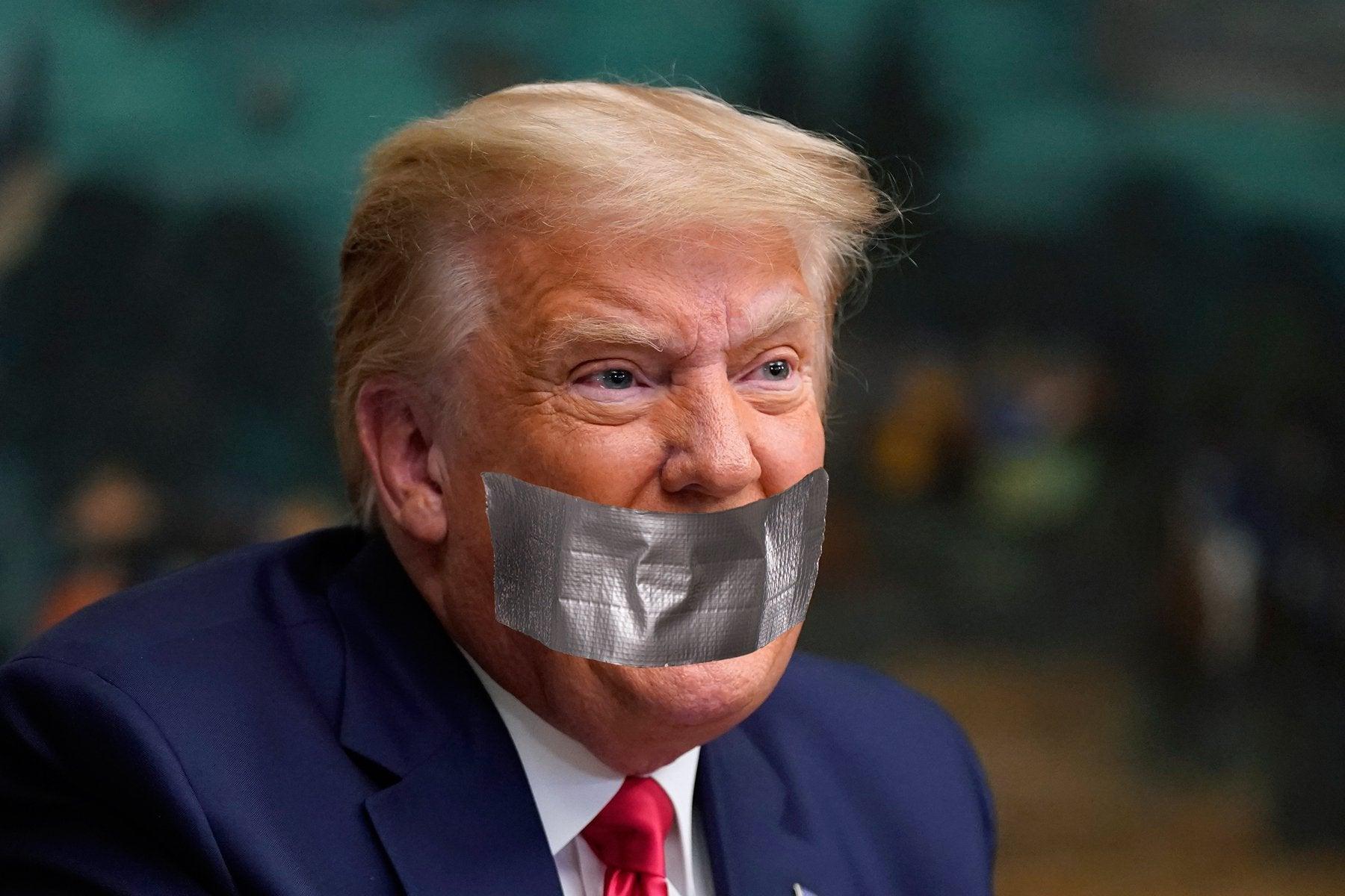 外交网站上对特朗普的凶搞图片
