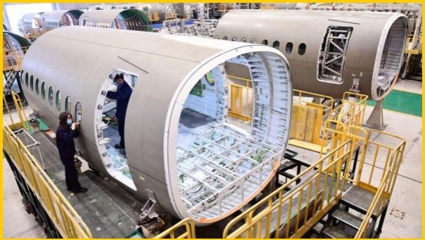 △1月12日起,美国政府对产自法德的部分飞机零部件加征关税