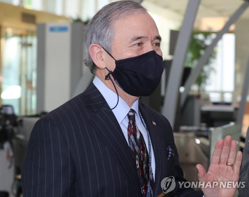 韩媒:美国驻韩大使哈里斯将于1月20日结束任期