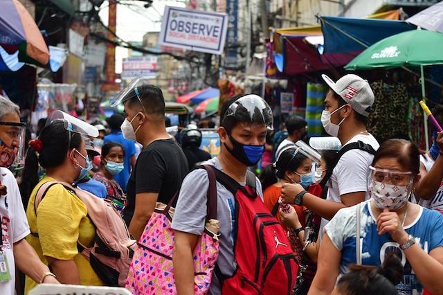 菲律宾累计确诊新冠肺炎病例超49万例