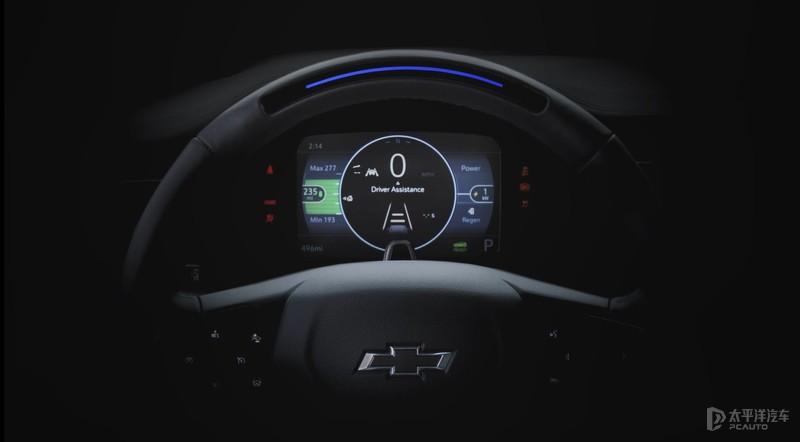 CES2021:新一代雪佛兰Bolt预告 全新数字仪表