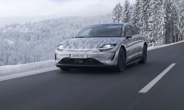 索尼发布视频 宣布VISION-S电动车已在欧洲上路测试