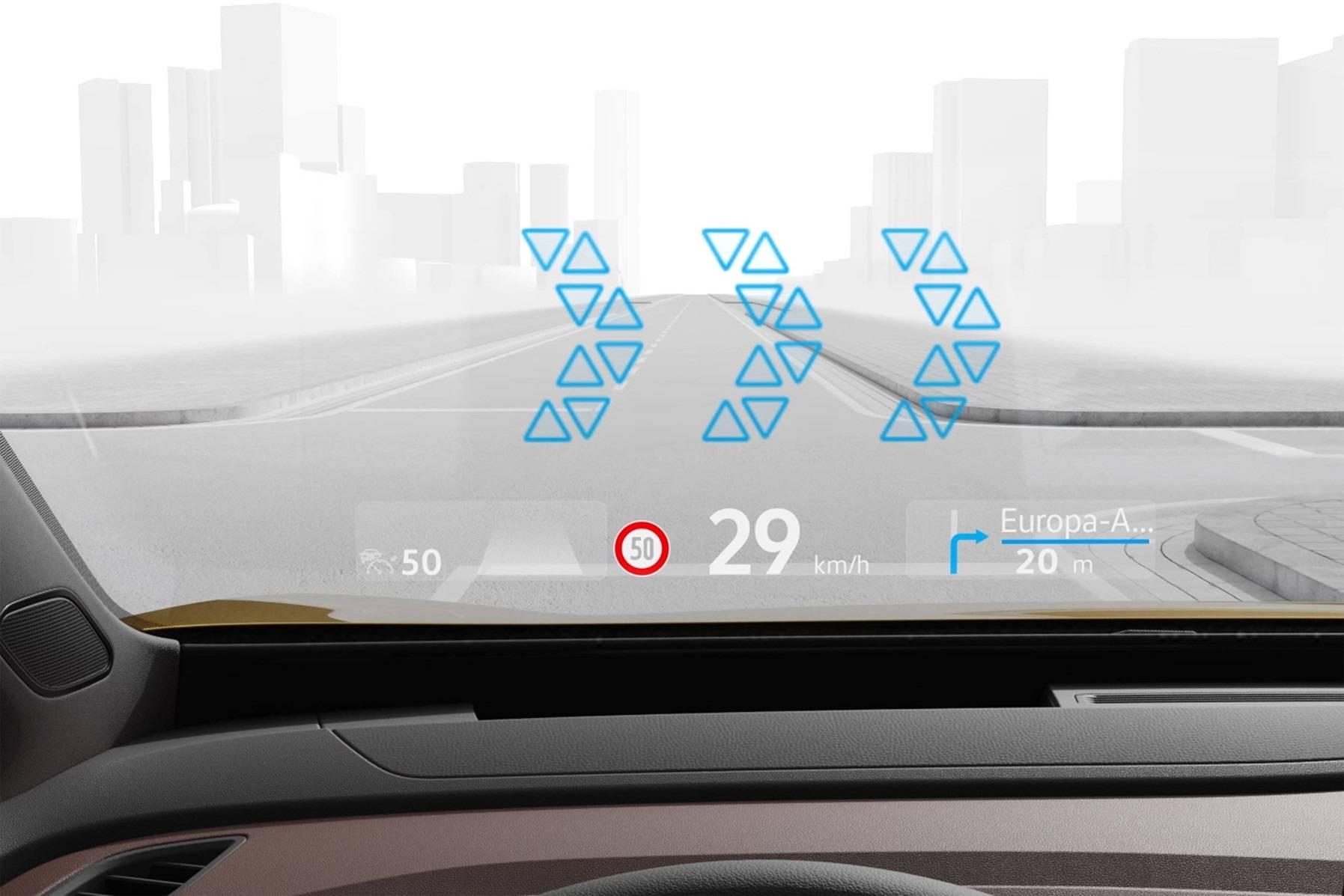 大众汽车推出AR抬头显示系统 将率先搭载至ID.3和ID.4车型