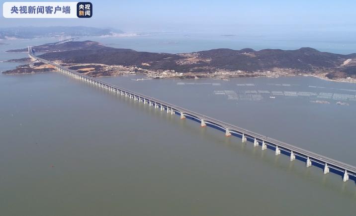 659个监测点!平潭海峡公铁大桥健康监测系统投入使用