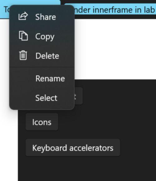 微软展示Win10弹出菜单和右键菜单新UI:回归圆角的照片 - 3
