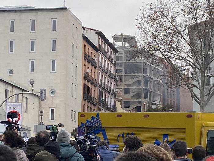 西班牙马德里建筑物爆炸事故原因或为天然气泄漏
