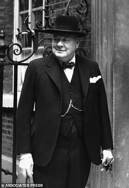 ▲英国前首相丘吉尔。图据《每日邮报》