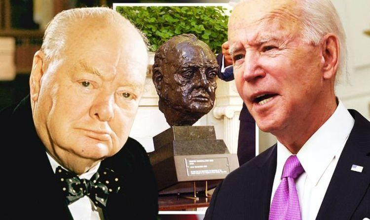 ▲青铜像搬家在英国社交媒体引发热议。图据英国《每日快报》