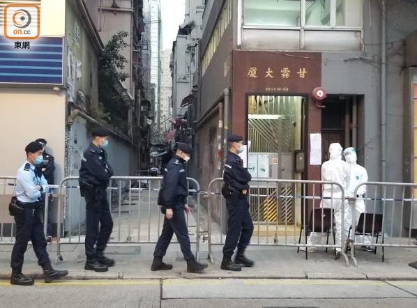 中国香港初次封区强制新冠病毒检验 反对派议员却拖后腿