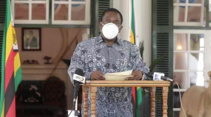 津巴布韦总统姆南加古瓦:坚信津巴布韦终究会战胜疫情