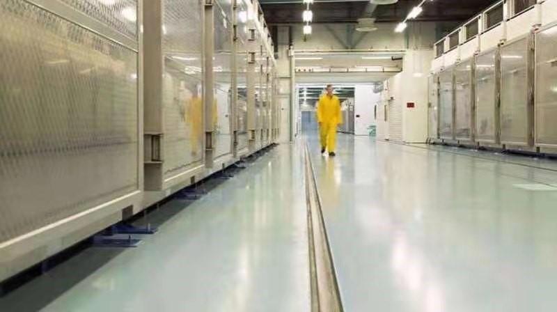 △伊朗核设施内部画面(图片来源:伊朗媒体)