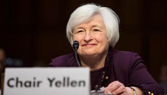 美国参议院确认珍妮特·耶伦为财政部长