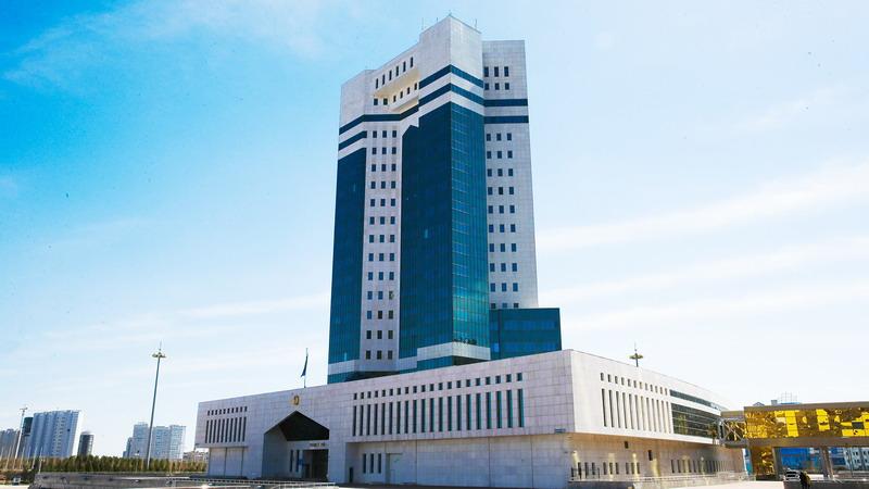 △哈萨克斯坦政府大楼