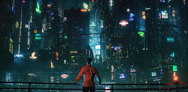 《赛博朋克2077》游玩画面。