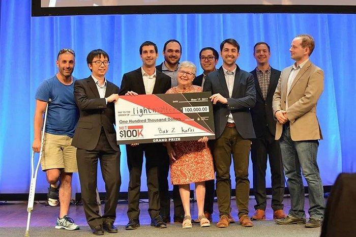 ▲主创团队在2017年赢得麻省理工学院10万美元创业大赛