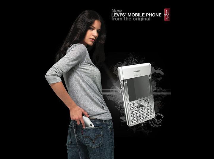 ▲ 由 ModeLabs 设计的 Levi's 手机