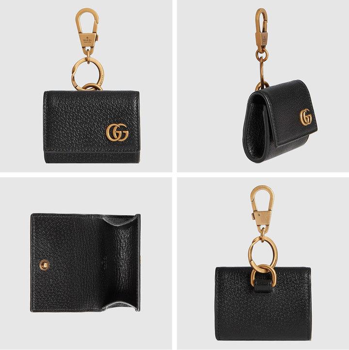 ▲ 价值 460 美元的 Gucci GG Marmont AirPods 珍惜套。 图片来自:Gucci 官网