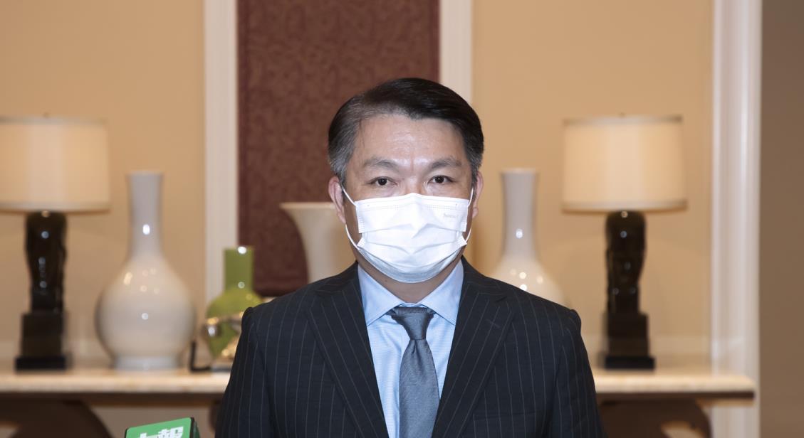 △澳门经财司司长李伟农