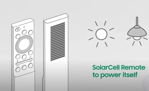 三星电视将在2021年配备太阳能遥控器