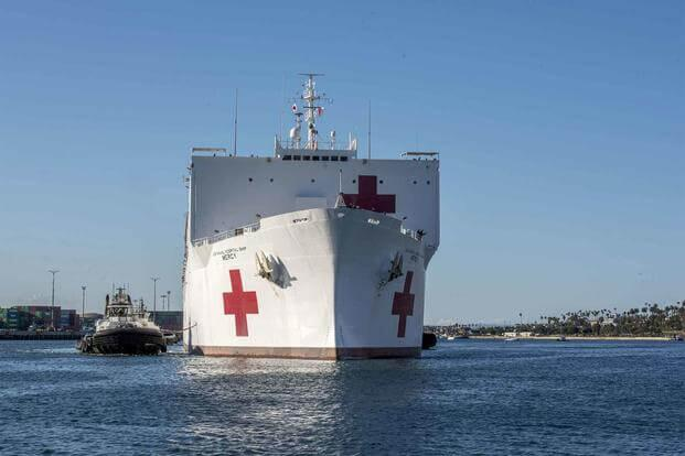 洛杉矶再度请求美军医院船支援 军方回复:正在大修