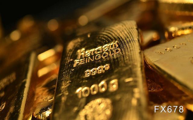 现货黄金反弹受限 美债收益率创十个月新高