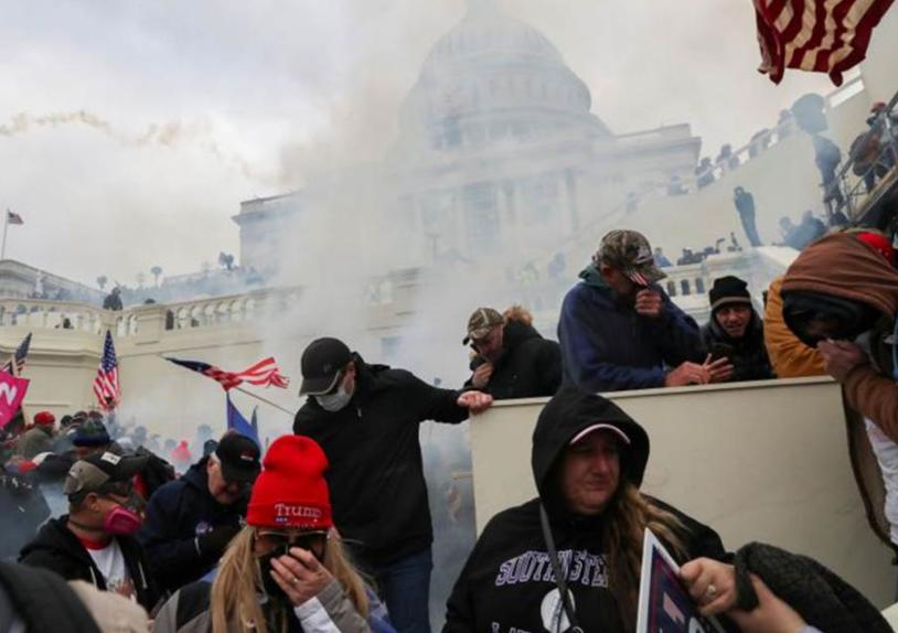 特朗普支持者围攻国会大楼 拜登:近乎煽动叛乱!