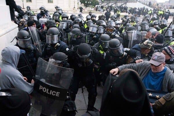 【蜗牛棋牌】美国国会遭袭之前,国会大厦警方多次拒绝国防部增援