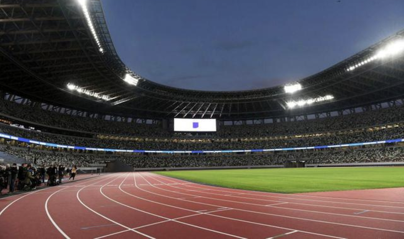 △东京奥运会主会场(资料图 图片来自网络)