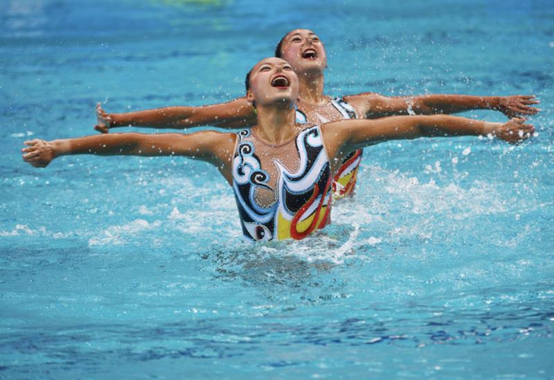 △2021年3月4日,首场奥运资格赛计划从花样游泳这个项目开始,届时各国运动员将为宝贵的奥运资格展开激烈争夺。(往年奥运会花样游泳比赛资料图 图片来自网络)
