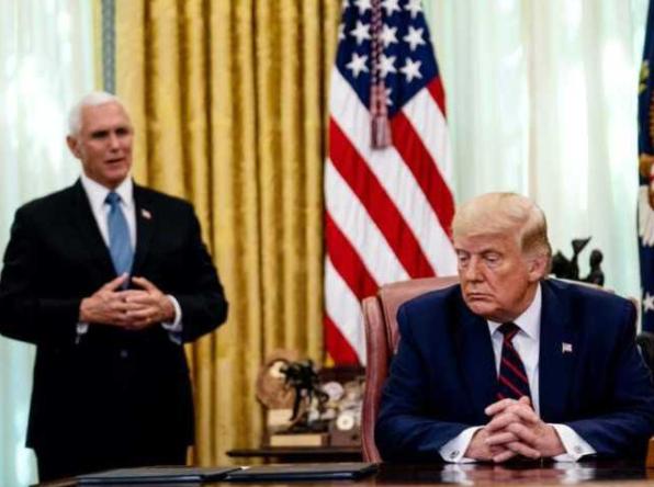 """美媒揭秘:为何美副总统会最后时刻""""反叛""""特朗普?  第5张"""
