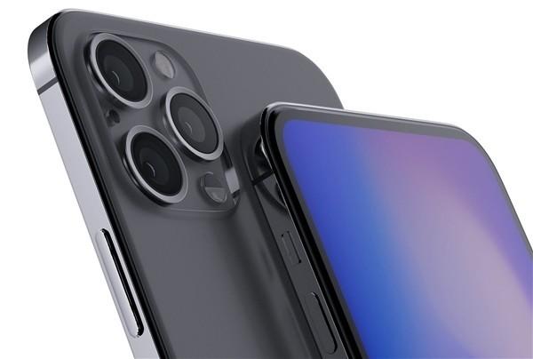"""无""""刘海""""iPhone烘托图"""
