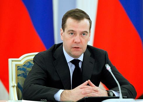 △俄罗斯联邦安全委员会副主席梅德韦杰夫