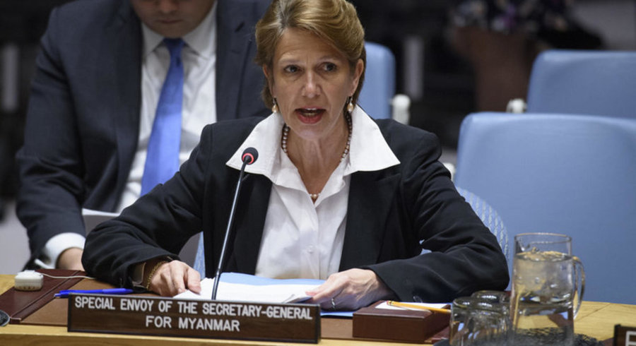 缅甸问题特使比尔格纳来源 联合国照片