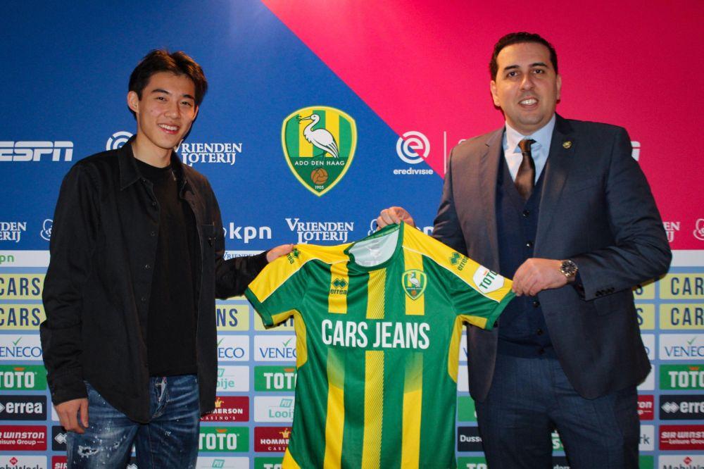 荷甲海牙俱乐部CEO:希望李嗣镕将来可以成为球队重要的一员!